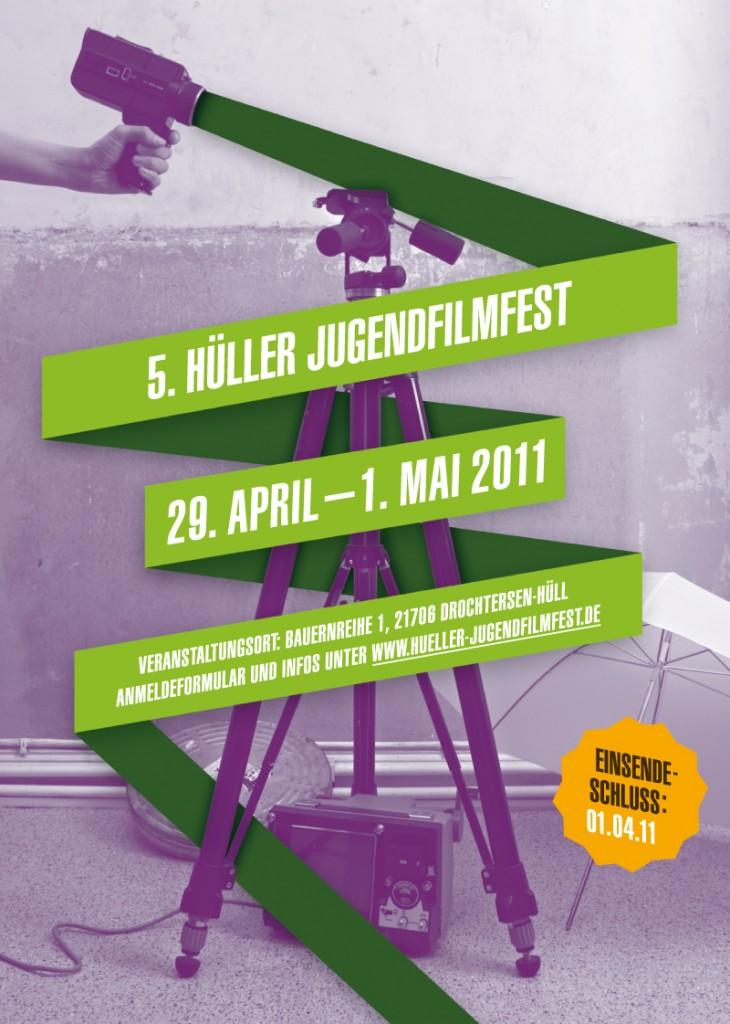 Plakat zum 5. Hüller JugendFilmFest